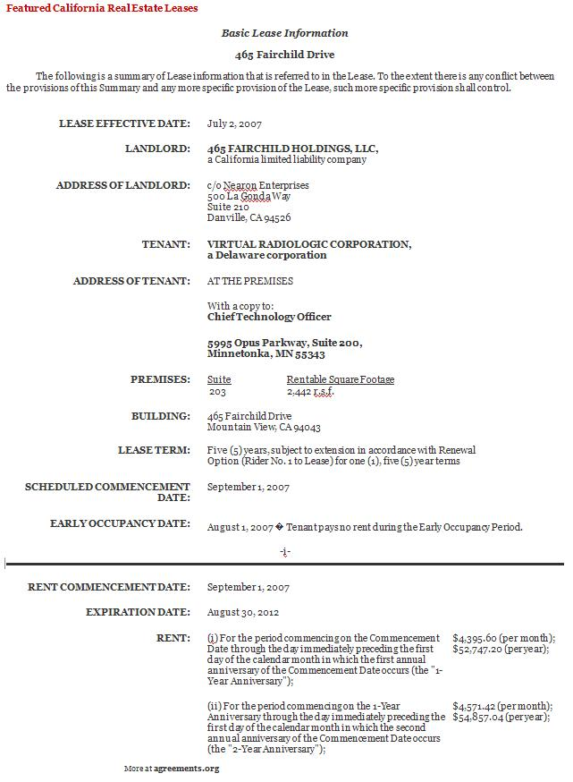free commercial lease agreement template .