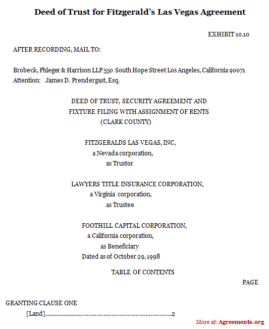 Deed Agreement Sample Image Collections Agreement Letter Format