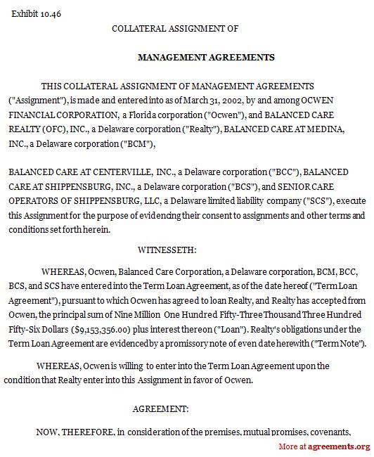 Agreements  AgreementsorgAgreementsorg