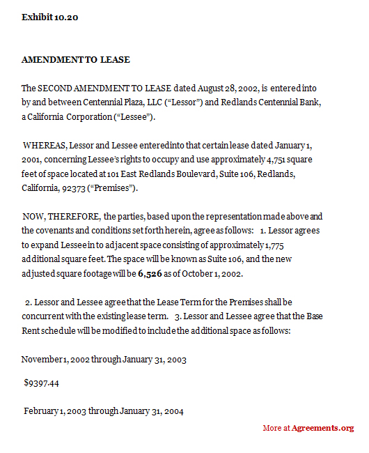Sample Contract Amendment Template Llc Operating Agreement Template